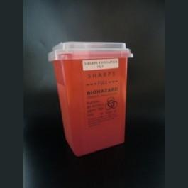 使い捨て用品等廃棄処理BOX (レッド)